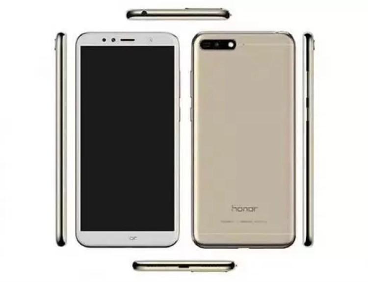 Huawei Honor 7A render revela o seu design antes do lançamento 1
