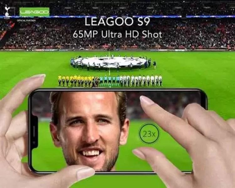 Leagoo S9 permite aumentar as fotos até 23 vezes com 65 Mega Pixels Ultra HD Shot ! 1
