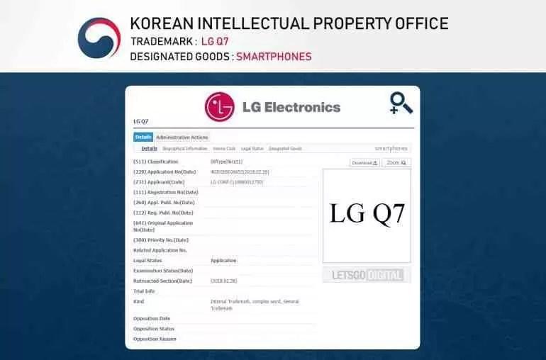 LG Q7 poderá estar a caminho 1