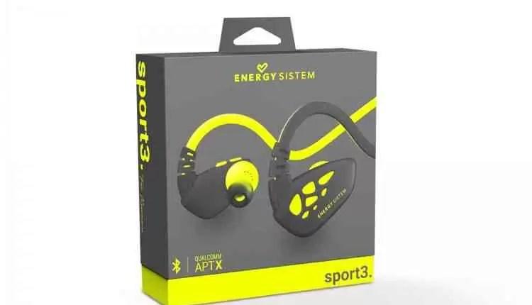 Novos Energy Earphones Sport 3 Bluetooth com tecnologia aptX 8