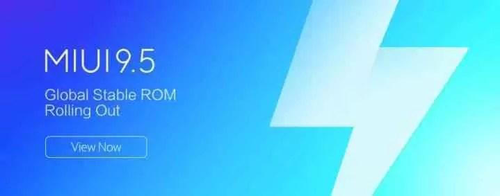 Xiaomi anuncia o roteiro do lançamento do MIUI 9.5 1