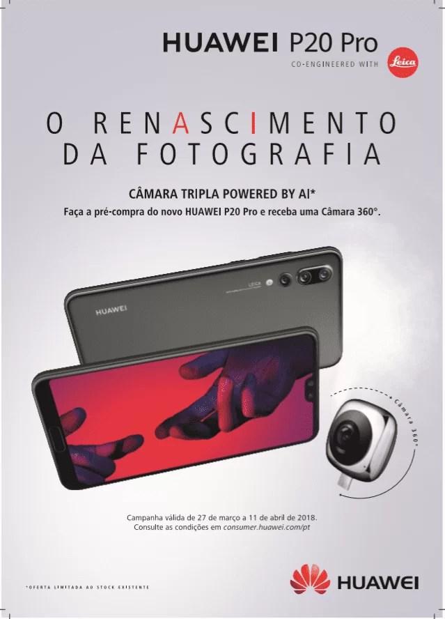Huawei P20 Pro com resultados record em Portugal 1
