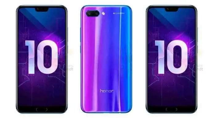 Honor 10 Revelado em imagens oficiais e todas as especificações 2