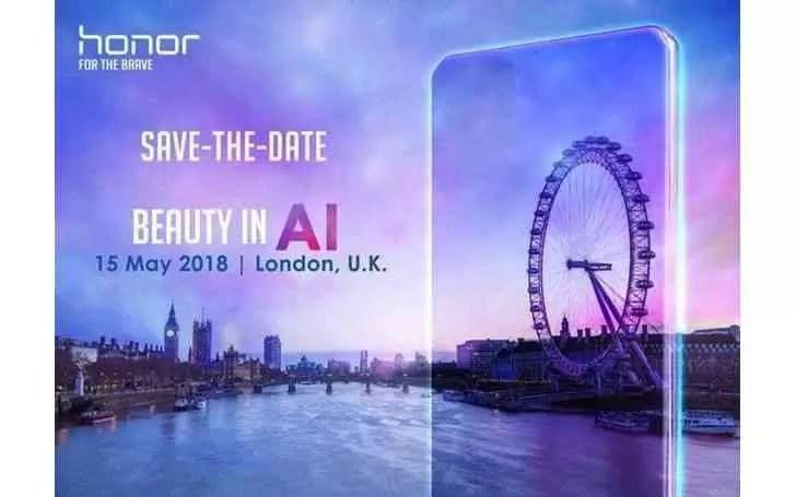 Honor revela possível data de apresentação do Honor 10 a 15 de Maio Londres 1