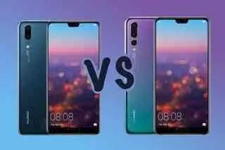 Huawei P20 Pro VS Huawei P20 Batalha de Especificações 1