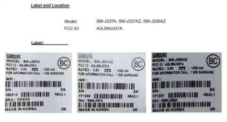 Três variantes do Samsung Galaxy J3 (2018) recebem certificação 1