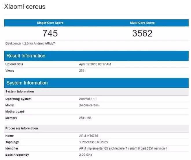 Xiaomi Redmi 6A aparece em teste de Benchmark com característica que desaponta utilizadores 1