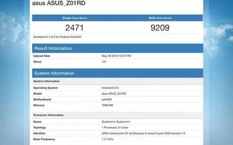 Asus Zenfone 5Z mostra-se demolidor com Snapdragon 845 1
