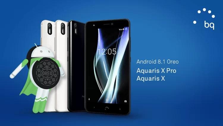 Android Oreo 8.1 chega aos BQ Aquaris X e Aquaris X Pro 2