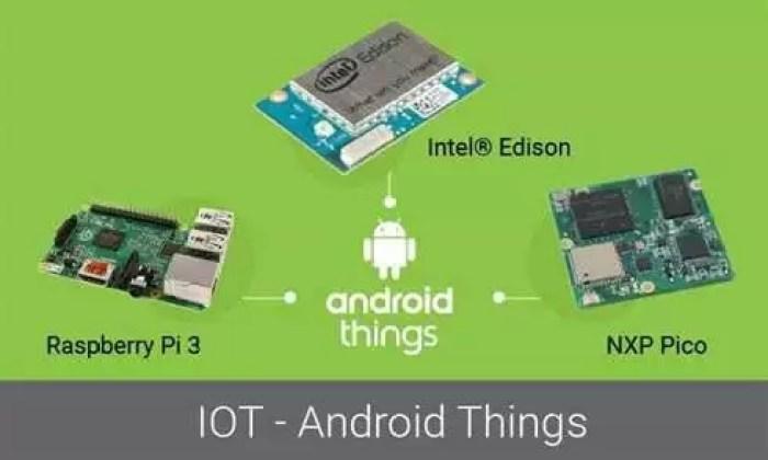Android Things 1.0 é a nova arma da Google 2