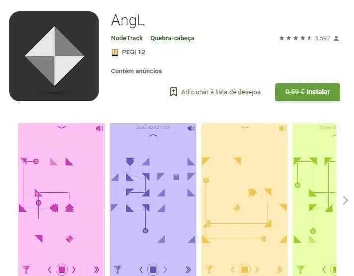 AngL da Node Track era 0.59€ e agora está grátis na Play Store 1