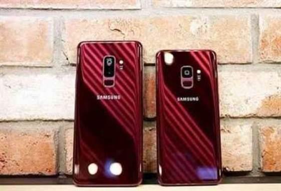Samsung Galaxy S9 / S9 + Burgundy Red é deslumbrante 1