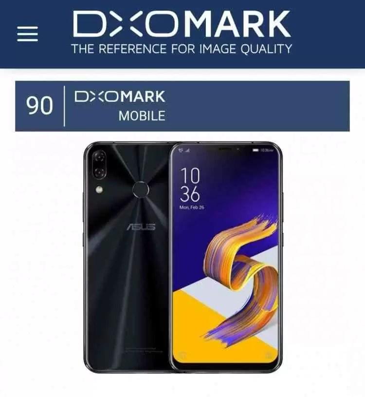 DxOMark classifica o Asus ZenFone 5 como EXCELENTE na gama média 1