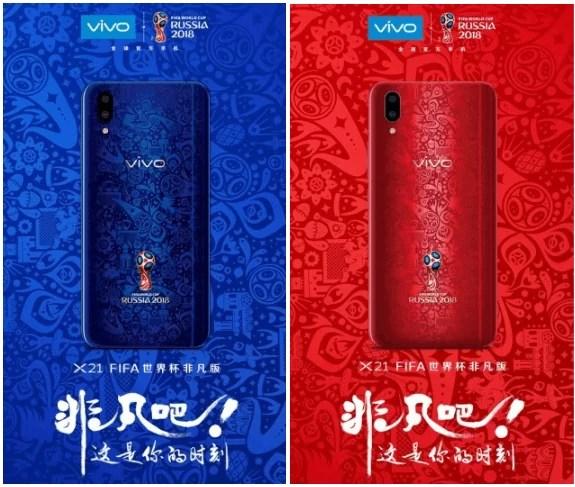 Novo vivo X21 World Cup Edition chega em duas cores extravagantes image
