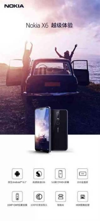 Nokia X6 Reveladas as suas especificações através de material promocional 1