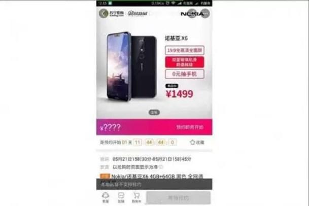 Nokia X6 vê o seu preço revelado antes do lançamento oficial 2
