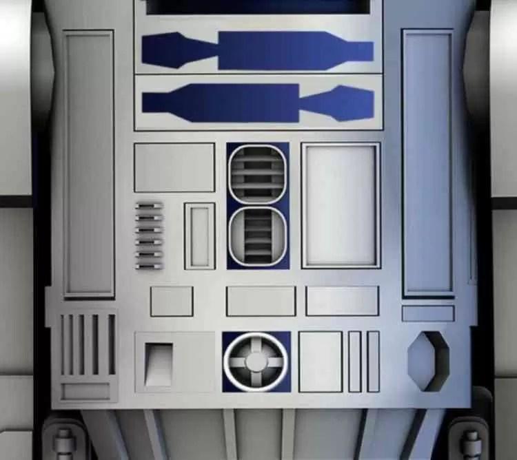 O Dia da Guerra das Estrelas é quando quiserem com estes Wallpapers DROID2 R2-D2 14