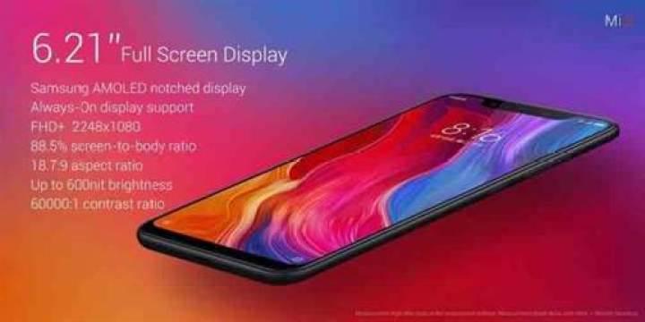 Xiaomi Mi 8 é oficial e vem acompanhado de 2 variantes 1