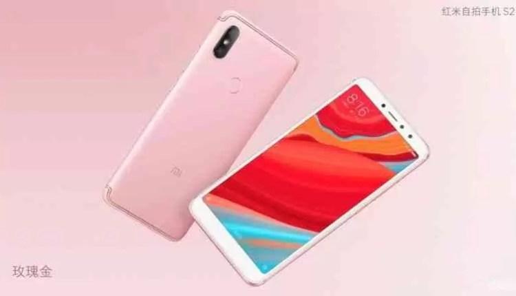Xiaomi Redmi S2 é agora oficial como o telefone para selfies 1