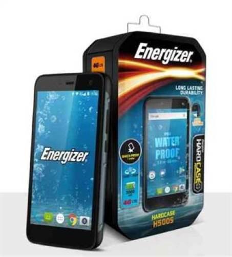 Energizer anuncia o Hardcase H500S, um novo telefone robusto 1