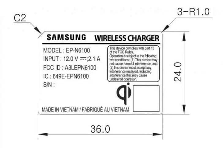 Galaxy Note 9 com bateria de 4000mAh e carregamento sem fios mais rápido 2