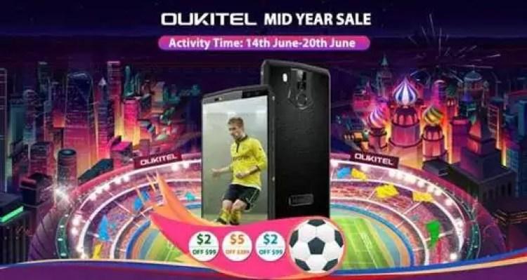Oukitel inicia campanha de meio do ano com preços a começar em $55.31 1