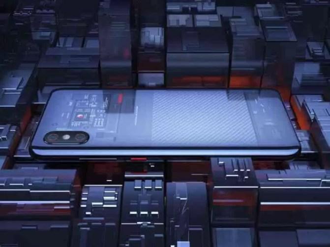Tampa traseira transparente do Xiaomi Mi 8 Explorer pode não ser real 1