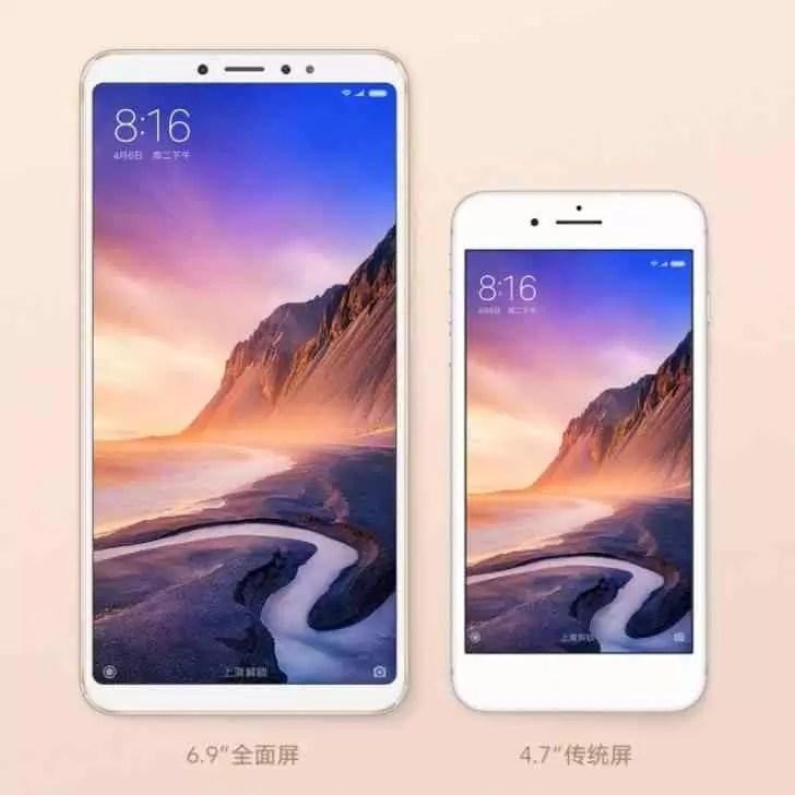 """Xiaomi Mi Max 3 chega com ecrã de 6,9 """"e bateria de 5,500 mAh"""