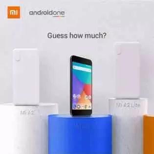 o utilizador consegue adivinhar o preço? Diga-nos quanto o utilizador acha que o # MiA2 e # MiA2Lite vai custar.