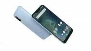 Xiaomi Mi A2 Lite em: Azul