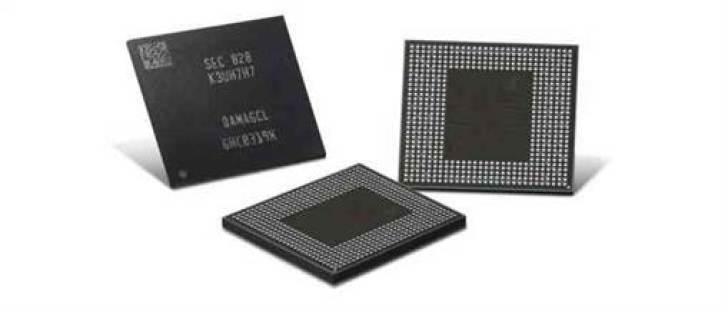 Samsung lança chips LPDDR4X de segunda geração com capacidade de 16 gigabits