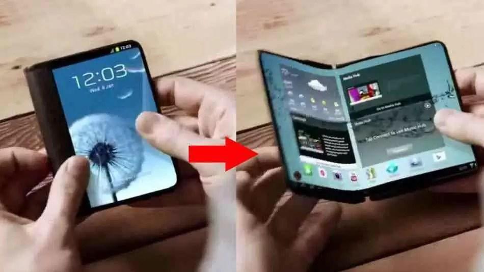Protótipo de Smartphone Dobrável Samsung Galaxy
