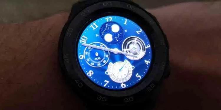 Análise Huawei Watch 2 5