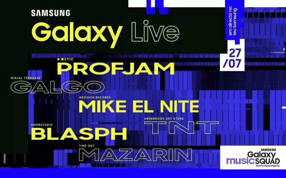 Samsung apresenta o Samsung Galaxy Live, o seu primeiro Festival de Música 1
