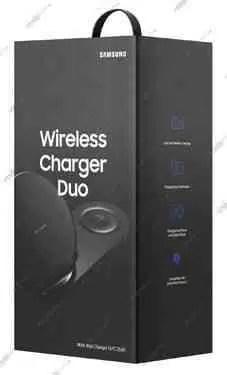 O Samsung Wireless Charger Duo pode carregar dois telefones em simultâneo 2