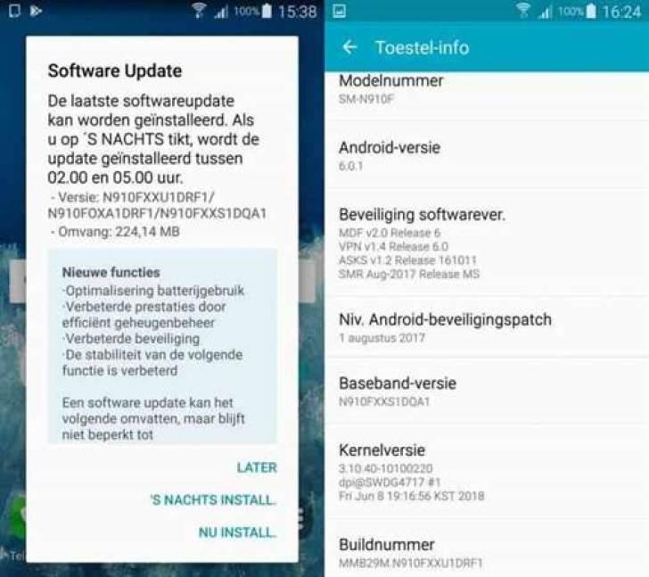 Samsung Galaxy Note 4 recebe atualização para aumento de vida da bateria 1