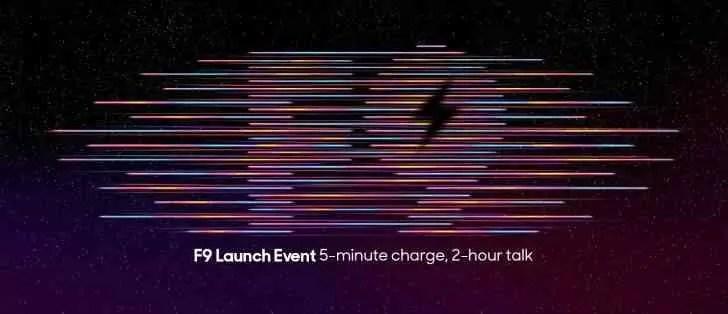 Oppo F9 chega oficialmente a15 de agosto com VOOC 2