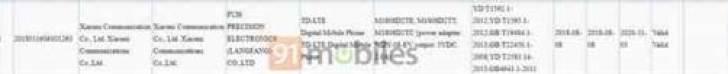 Xiaomi Mi 8X passa a certificação 3C, mostra três variantes 1