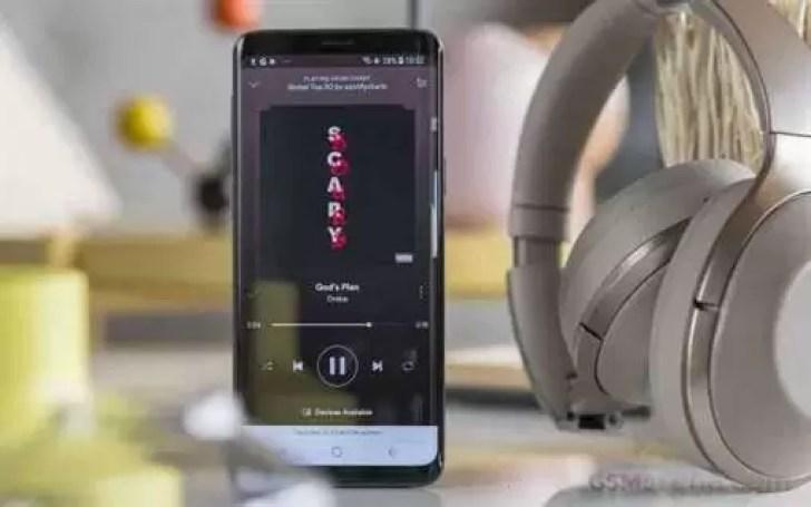 Samsung em parceria com Spotify para a sua plataforma principal de música 1