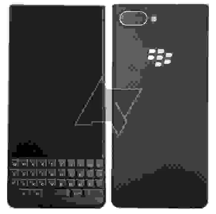 BlackBerry KEY2 lite render fuga de informação