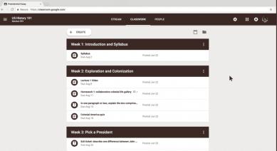 Google Classroom redesenhada está agora melhor que nunca image