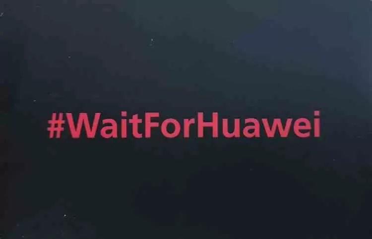 Hoje é dia 09/08/2018 e a Huawei sugere #waitforhuawei e explica porquê image