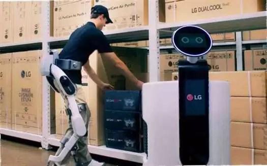 LG lidera nova era de IA em robótica com um Wearable Robot 1