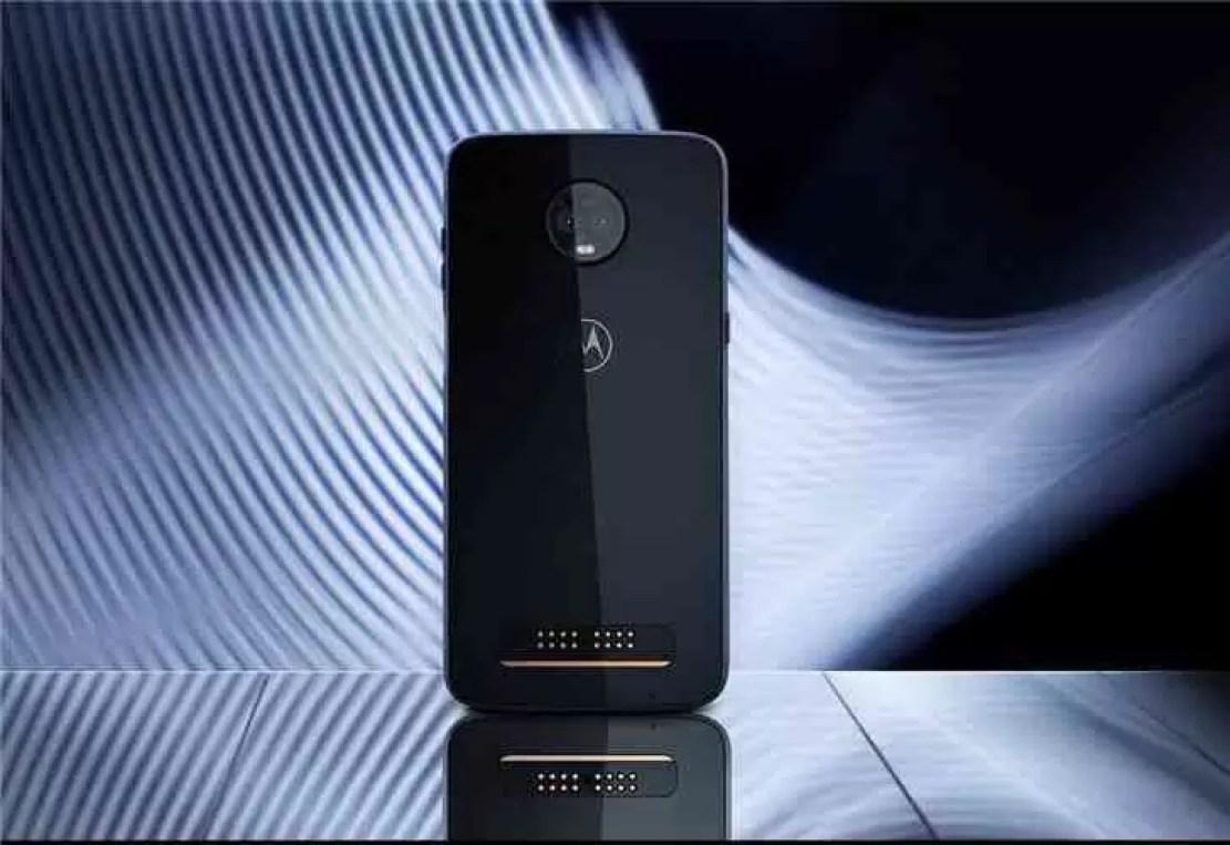 Parte traseira do Motorola Z3