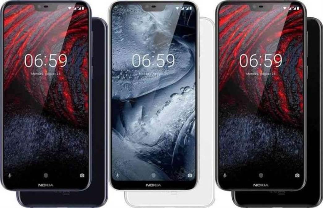 Nokia 6.1 Plus variantes de cor