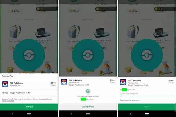 Nova interface do utilizador de compras no Google Play 1