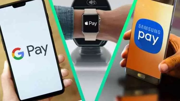 Applepay Samsung Pay Googlepay 2