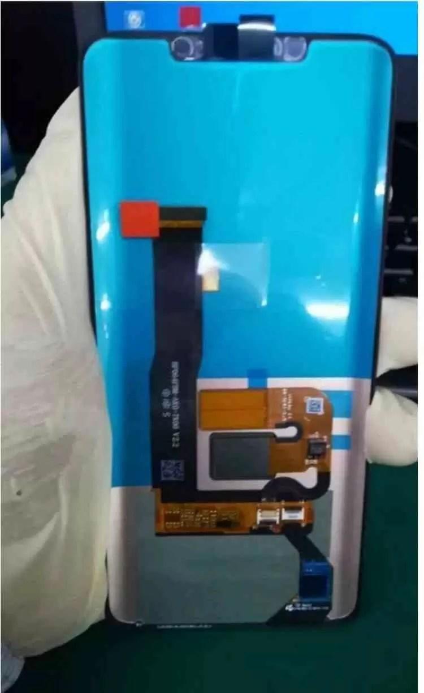 Painel frontal do Huawei Mate 20, revela um entalhe e avançado reconhecimento facial 3D 1