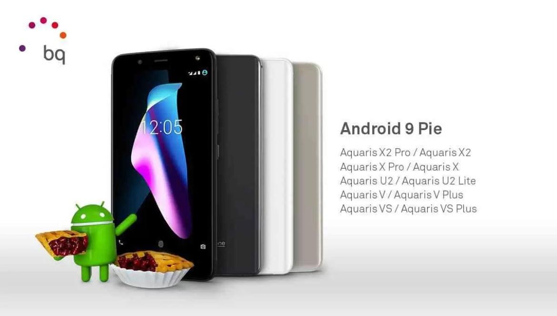 Equipamentos BQ com Android P garantido 1