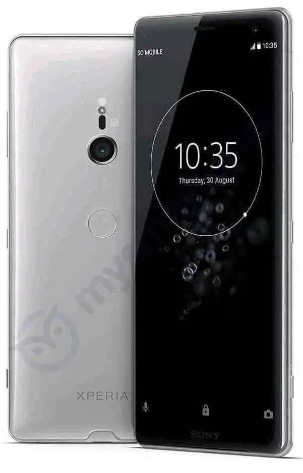 Sony Xperia Xz3 Render Full